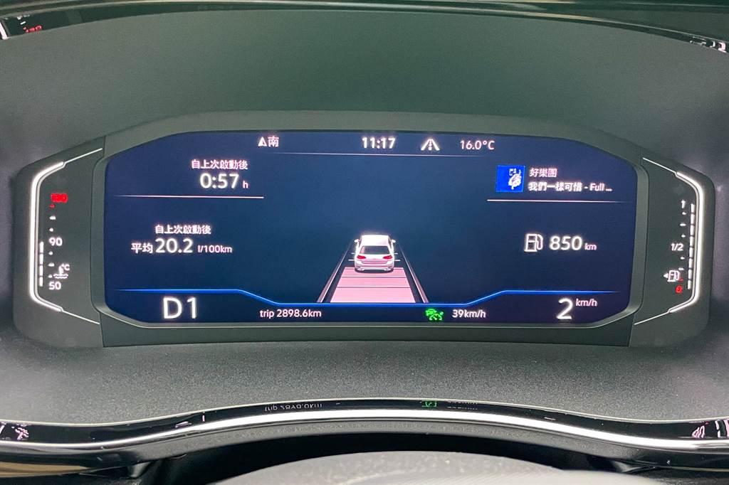 導入MQB平台之電控系統後,IQ.Drive智慧駕駛輔助系統也隨之升級。