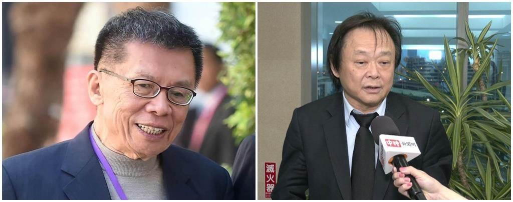 前民進黨立委沈富雄(左)、民進黨台北市議員王世堅(右)。(合成圖/本報系資料照)