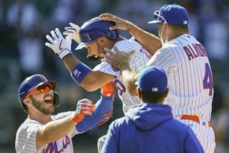 MLB》三振竟變觸身球 主審再見誤判送大都會勝利