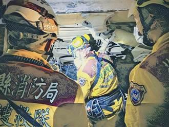 「救到救不到人為止」消防員血淚告白太魯閣號關鍵17小時