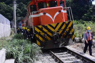 台鐵花蓮東正線搶修進度超前 重建電力系統提早試運轉