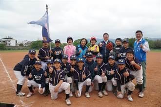 新竹縣主委盃暨不老盃棒球錦標賽登場 球員年齡相加超過5000歲