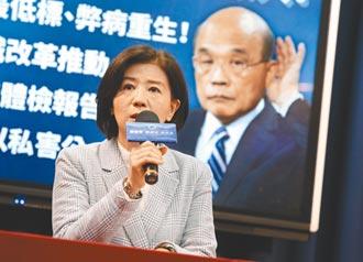 國民黨列蘇貞昌4大罪狀 要求負責