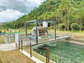 蘭陽電廠設平台 1滴水用4次