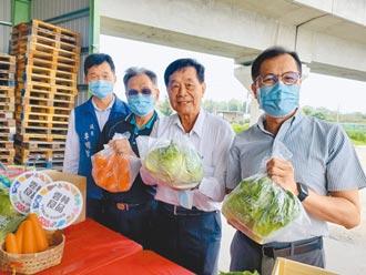 雲林蔬菜套保鮮袋 外銷馬紹爾