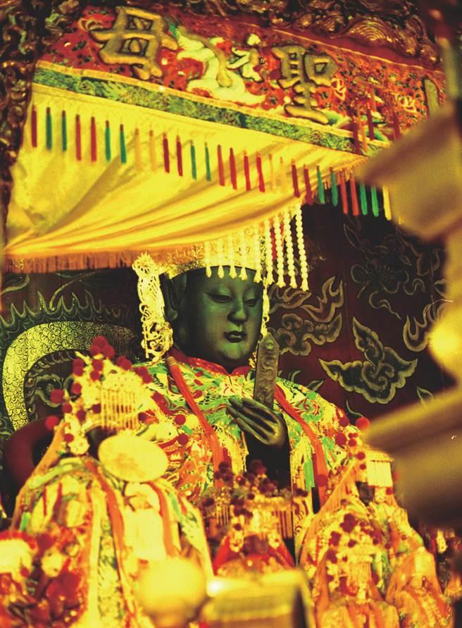 世界級女神-天上聖母。(圖/柿子文化提供)