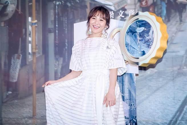 女歌手梁文音。(图/ 取自中时资料库)