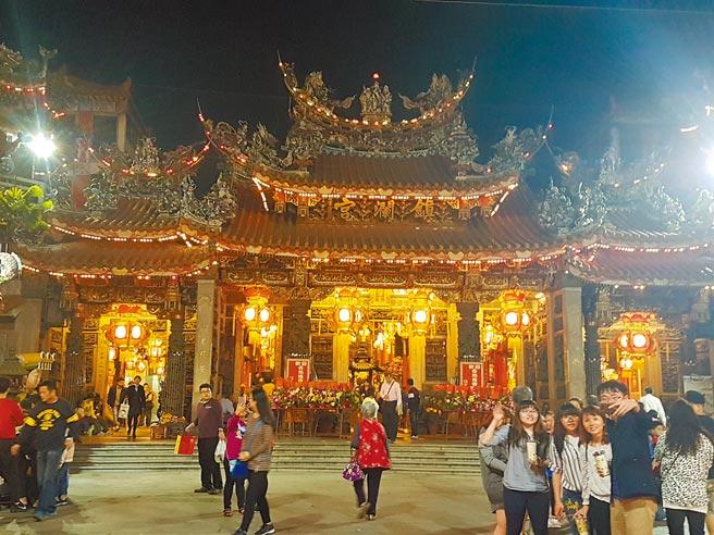 大甲鎮瀾宮媽祖遶境進香活動,預計將於4月9日深夜11時起駕、18日回鑾。(張妍溱攝)
