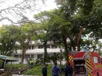 新竹高中化學實驗室發生火警 無人員受困受傷