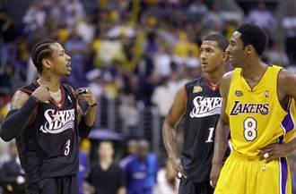NBA》前七六人總管:艾佛森不輪休只好藏球衣