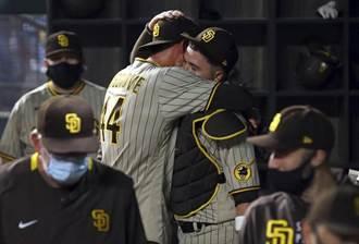 MLB》28上27下!教士隊52年首見無安打比賽