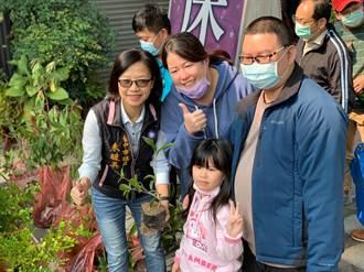 綠美化水土保持 中市議員朱暖英連續13年推廣植樹運動