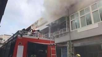 竹南火燒厝 消防局戰術滅火15分鐘僅耗3.5噸水