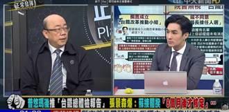 行政院根本没核定台铁总体检报告? 郭正亮:蔡总统被骗了