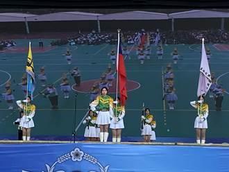 「儀」級棒 第5屆全國高級中等學校儀隊競賽台中登場