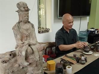台中藝術之光 工藝師陳金旺入選兩項國際陶藝雙年展