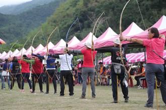 全国原住民传统射箭比赛 总奖金35.8万元