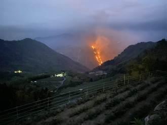 阿里山又傳森林大火 山上居民:恐燒3天3夜