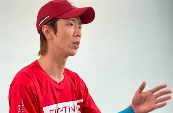 小杰參加《全明星運動會》第二季,擔任紅隊隊長一職。(圖/jaydaone111 IG)