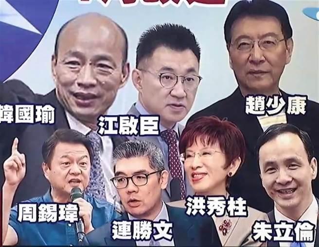 國民黨主席可能參選人(見圖)。(圖/本報資料照)