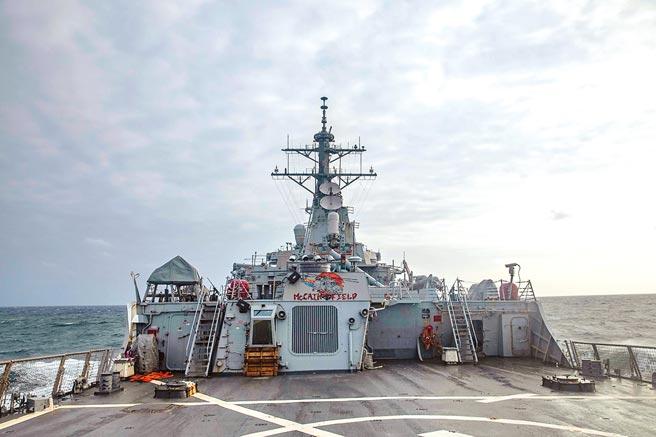 美國參議院提出「2021年戰略競爭法」,將動用一切戰略工具抗衡中國,圖為美國伯克級神盾驅逐艦馬侃號7日通過台灣海峽。(摘自美國印太司令部推特)