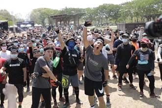 斯巴達障礙跑6000人參賽 小刀自我突破不放棄