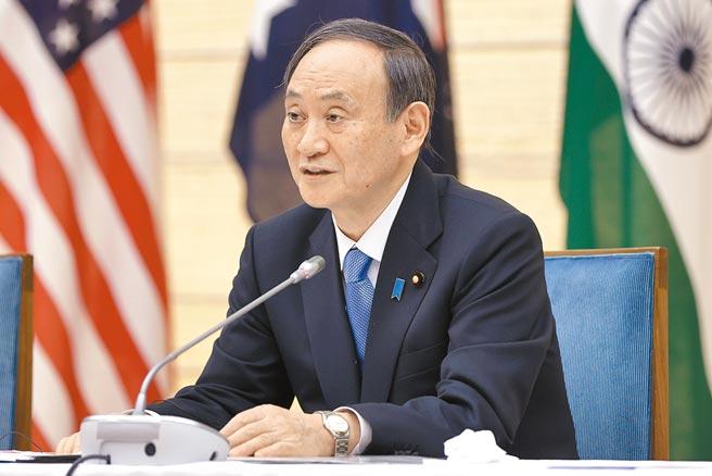 日本首相菅義偉(見圖)即將訪問華府,16日與美國總統拜登舉行高峰會談。(美聯社)