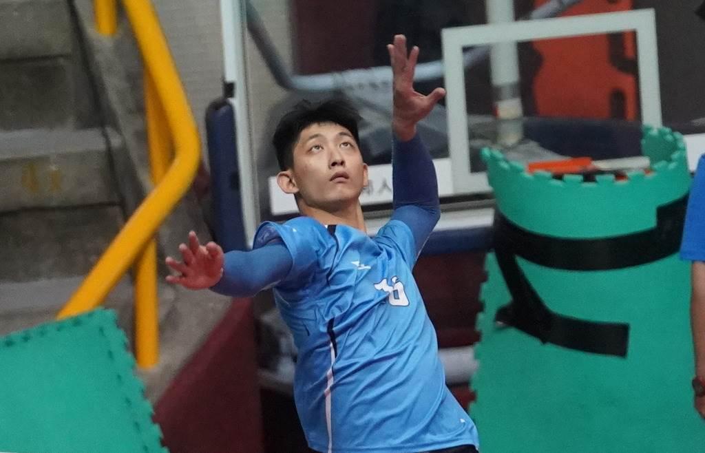 國北教大周冠宇獲選男子組冠軍賽MVP。(大專體總提供)
