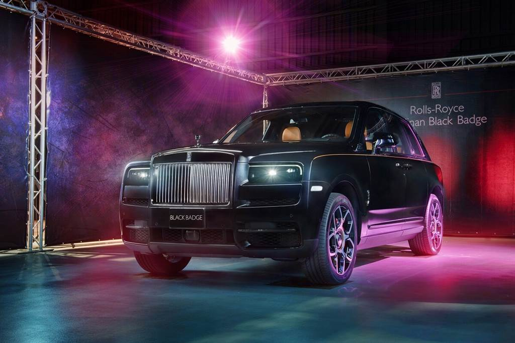 Rolls-Royce提供Black Badge車系更具動感的「LOW」模式