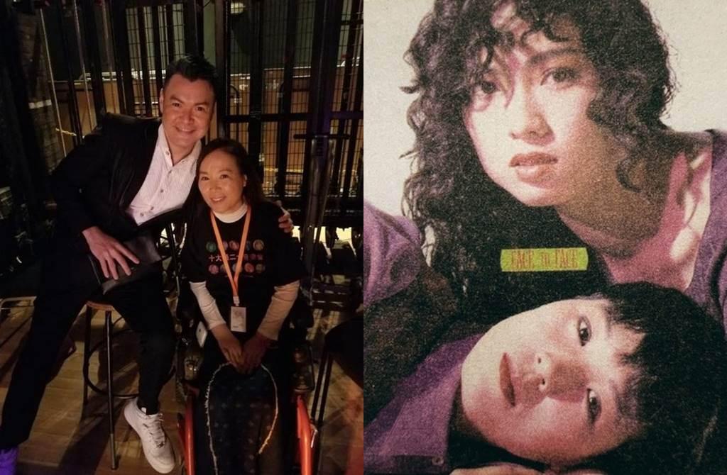 吴少芳曾和蔡惠玲组成Face to Face出道,因车祸退出。(图/翻摄自东网)