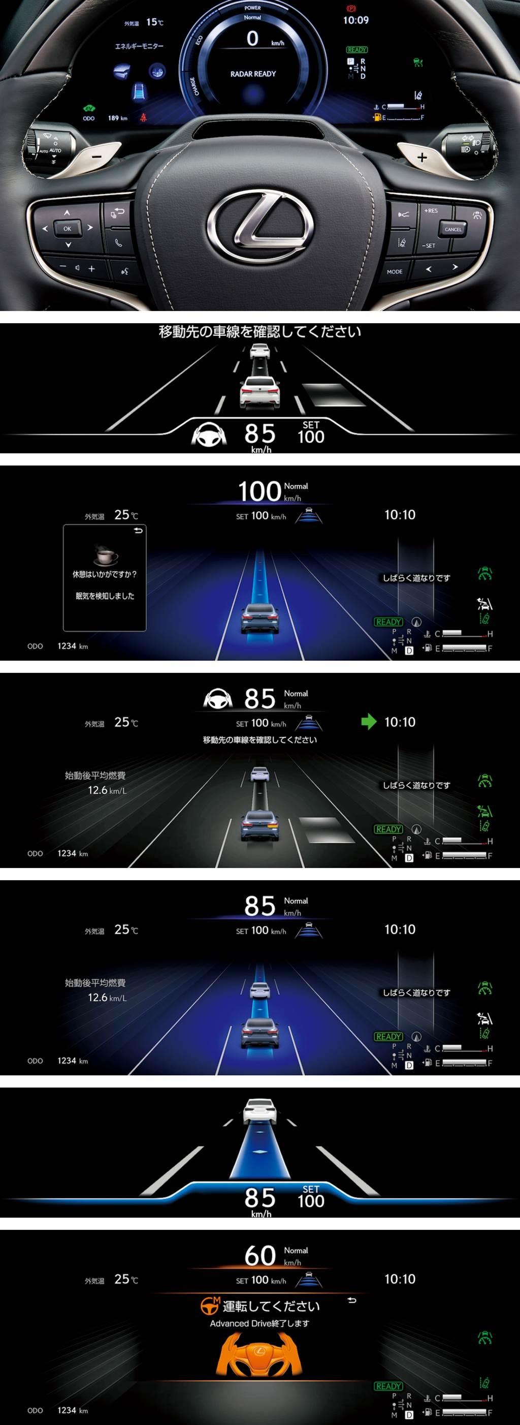 """實現人與車共同駕駛的新紀元,Lexus LS/Toyota Mirai """"Advanced Drive"""" Level 2 輔助駕駛日本發售!"""