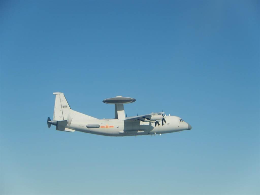 空警500 (同型機)。(國防部提供)