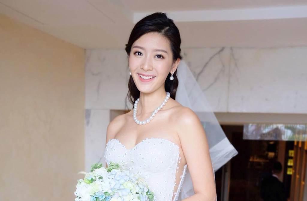 27歲氣質港星余香凝在去年11月閃電嫁給大她13歲、從事證券工作的陸政渡。(圖/取材自余香凝Instagram)