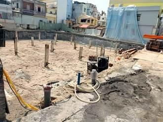 居民憂小琉球10樓飯店地下工程不穩 建管科:工程正常