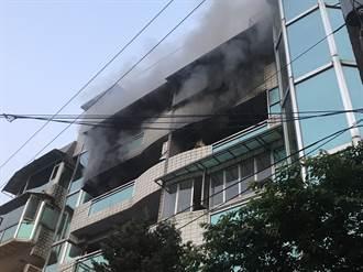 基隆4樓安親班火警 疏散30名師生無人受困