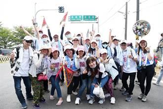跟年輕朋友一起走 黃敏惠大甲媽10公里初體驗達陣