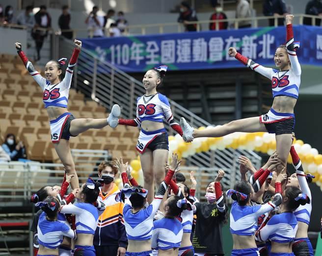 國中小團體全女生組東山高中。(高中體總提供)