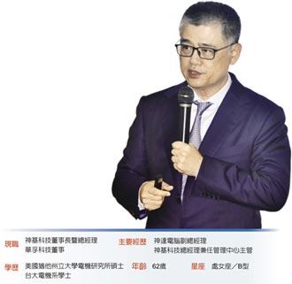 神基董事長 黃明漢帶領神基 攻占強固電腦龍頭