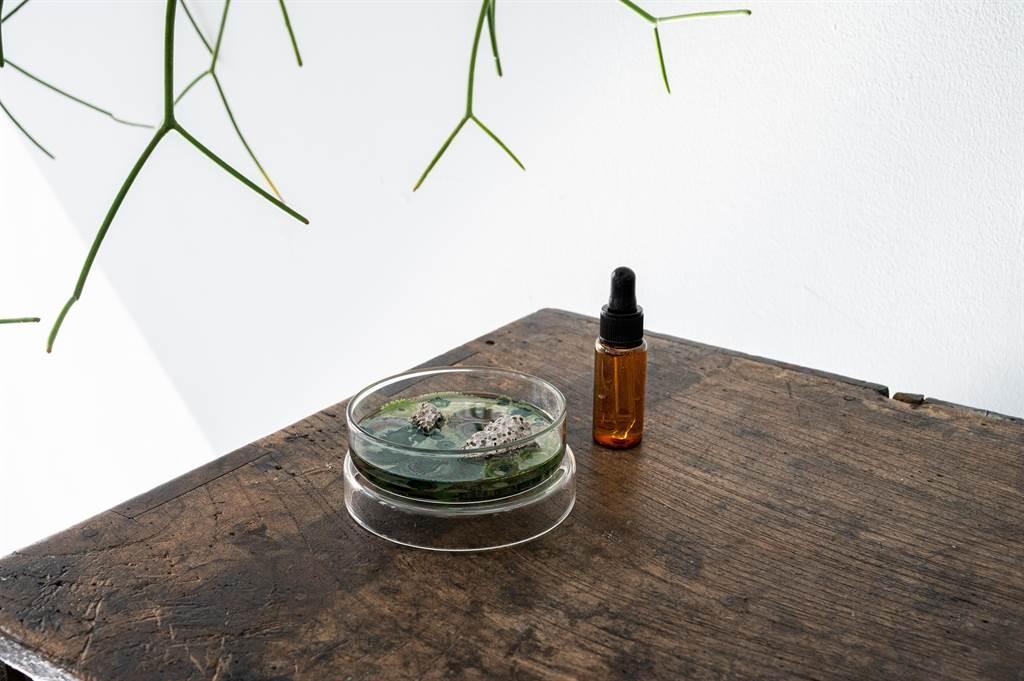 圖五:The New Normal氣味培養皿,推出「頹敗中的微光」和「無人之境」兩支情境式香氣,在嘖嘖募資平台上架並推出早鳥優惠。(質物霽畫提供)