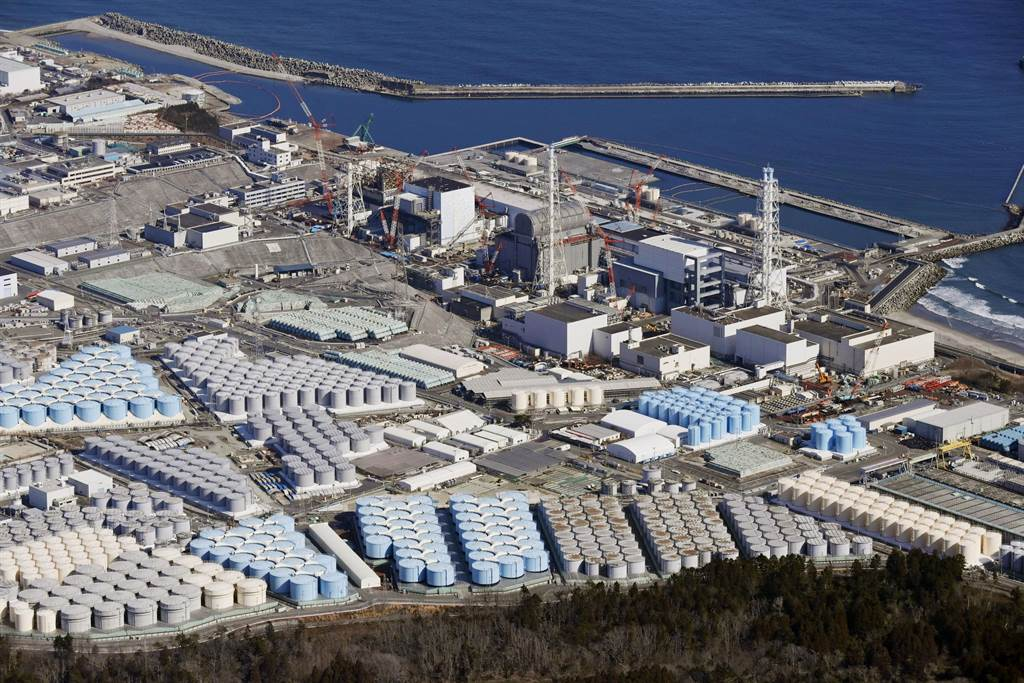 日本正式決定福島核廢水2年後將稀釋排入海中。(圖/路透社)