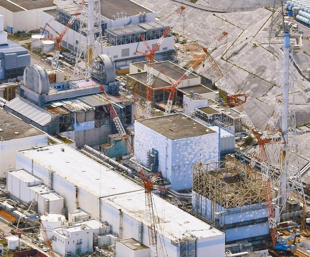 日本政府今天正式決定,將福島第一核電站核汙水經過濾並稀釋後排入大海。(美聯社資料照)