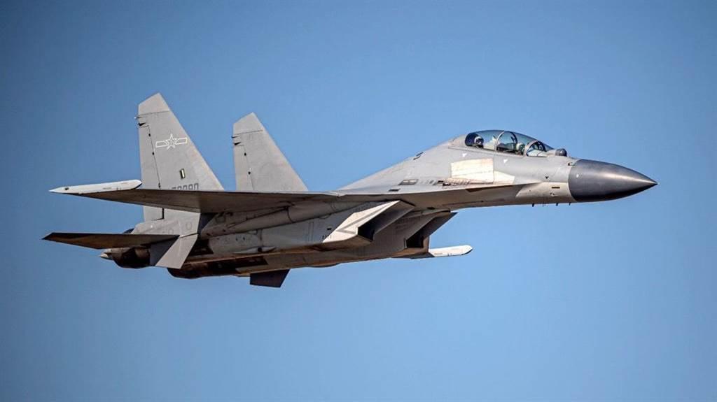 殲16戰機。空軍提供。