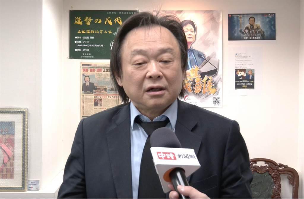 台北市議員王世堅。(資料照)