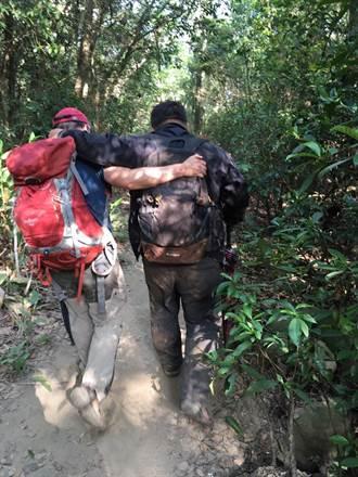 130公斤男火炎山上喝高粱醉倒 11名消防員上山營救