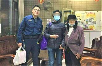 8旬母從雲林到台中探親迷途 中市警助團聚