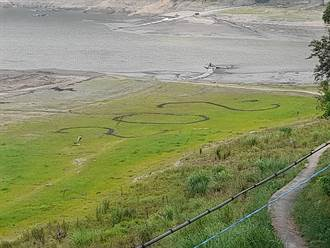 石門水庫蓄水率只剩31% 薑母島居民畫SOS求救