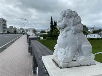 花蓮之寶尚志橋2石獅消失原因曝光 空軍士官酒後推下溪
