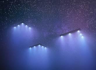 影》6幽浮圍著戰艦繞 美證實是真的