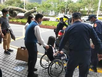 安家專案 警護送太魯閣號傷者返家
