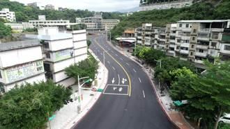基隆麥金路示範道路完工 284人孔蓋減至8座